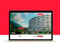 Landing Page для апарт-отеля