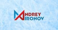 Логотип для хоккеиста