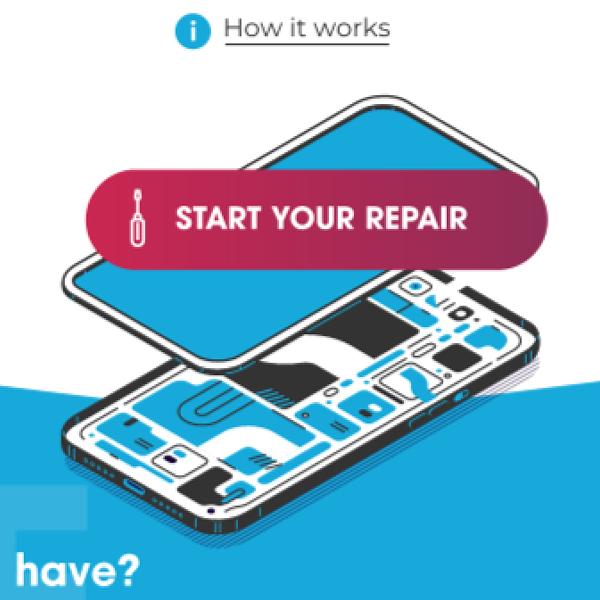Дизайн сайта сервиса по ремонту телефонов