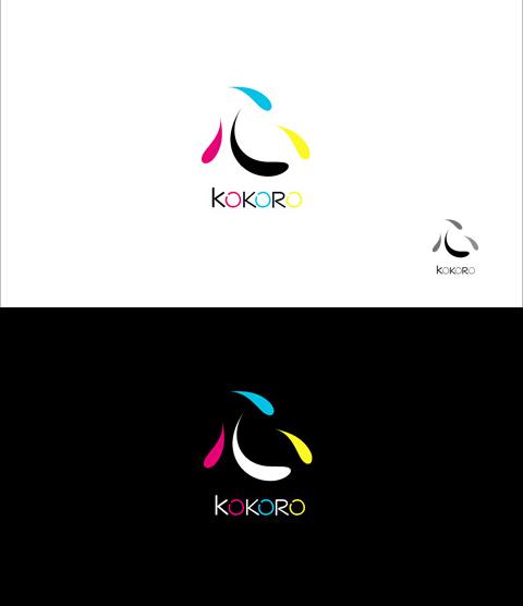 """Лого для дизайн-студии """"Кокоро"""" 2 вариант (принят)"""