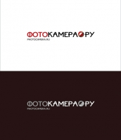 Переработка логотипа Фотокамера.ру