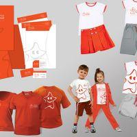 Брендбук фирменный стиль для «Global Child»