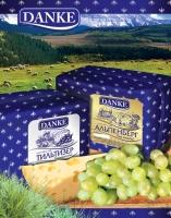 Стильная упаковка сыра «Danke»