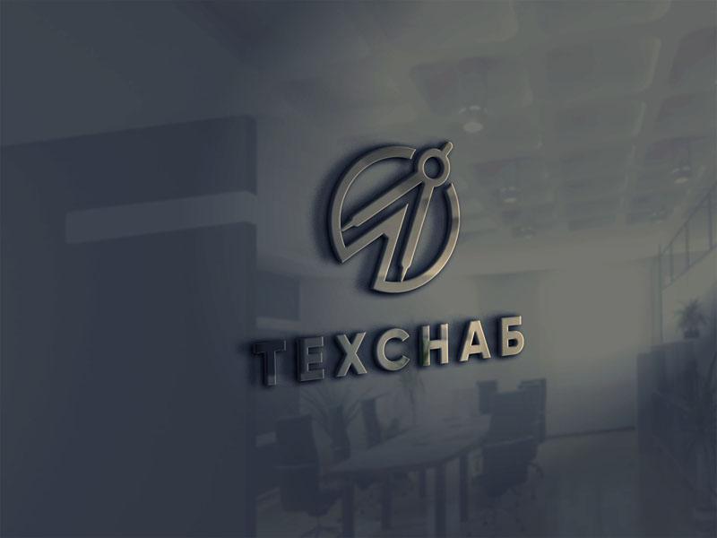 Разработка логотипа и фирм. стиля компании  ТЕХСНАБ фото f_0305b1af400045de.jpg