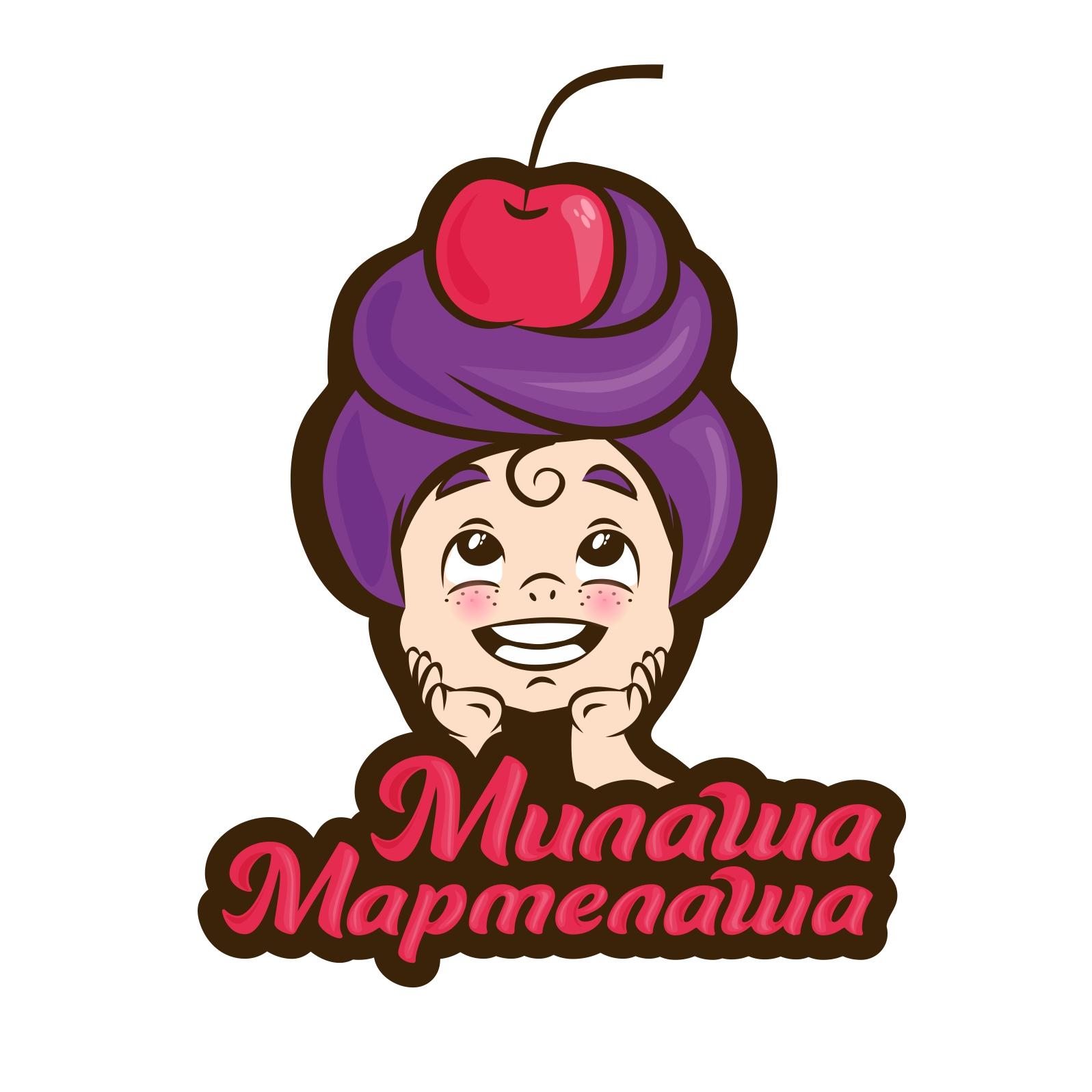 "Логотип для товарного знака ""Милаша-Мармилаша"" фото f_055587a748aebaf1.jpg"