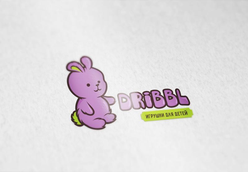 Разработка логотипа для сайта Dribbl.ru фото f_1905aa07afd575db.jpg
