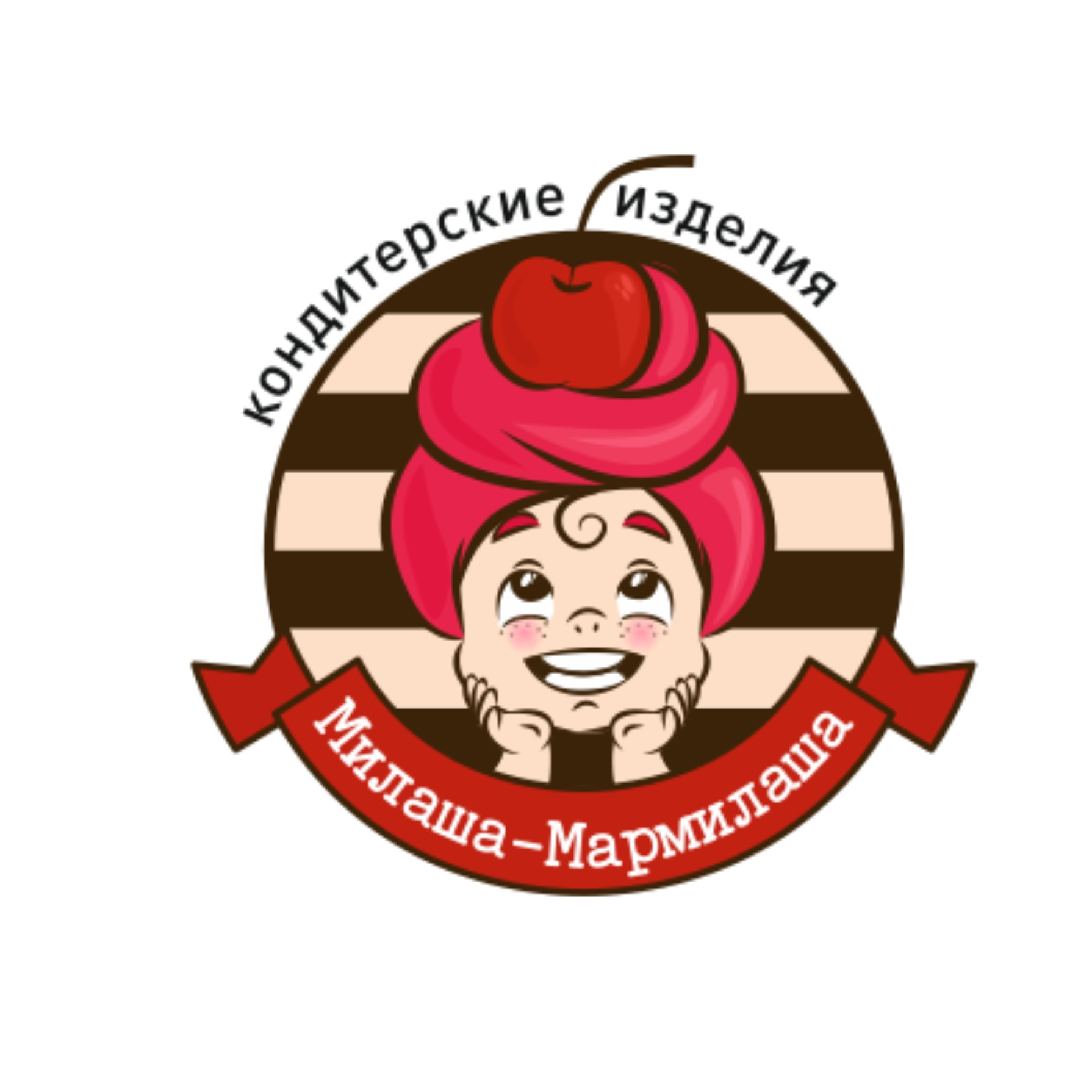 """Логотип для товарного знака """"Милаша-Мармилаша"""" фото f_6935875809aa6306.jpg"""