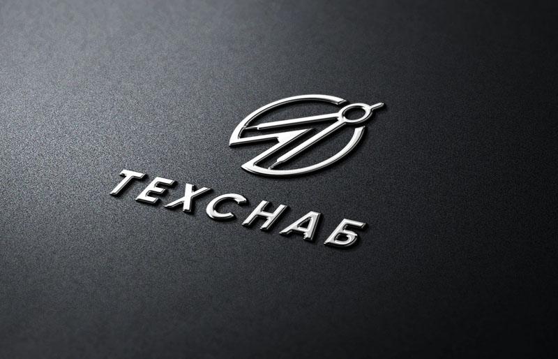 Разработка логотипа и фирм. стиля компании  ТЕХСНАБ фото f_8145b1af40422904.jpg