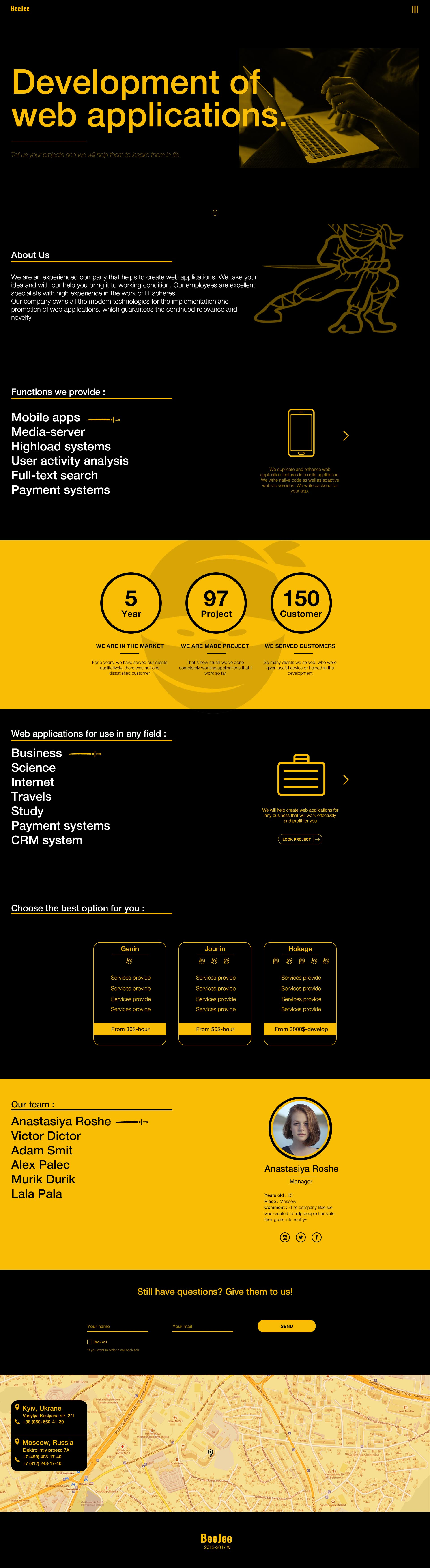 Концепт дизайна сайта в корпоративном стиле для IT компании фото f_15559677e4c35b5a.jpg