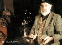 Master Levon`s miracle-museum in Arinj village