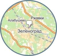 Парсинг с карт всех предприятий Зеленограда