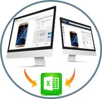 Мониторинг цен конкурентов (интернет магазины)