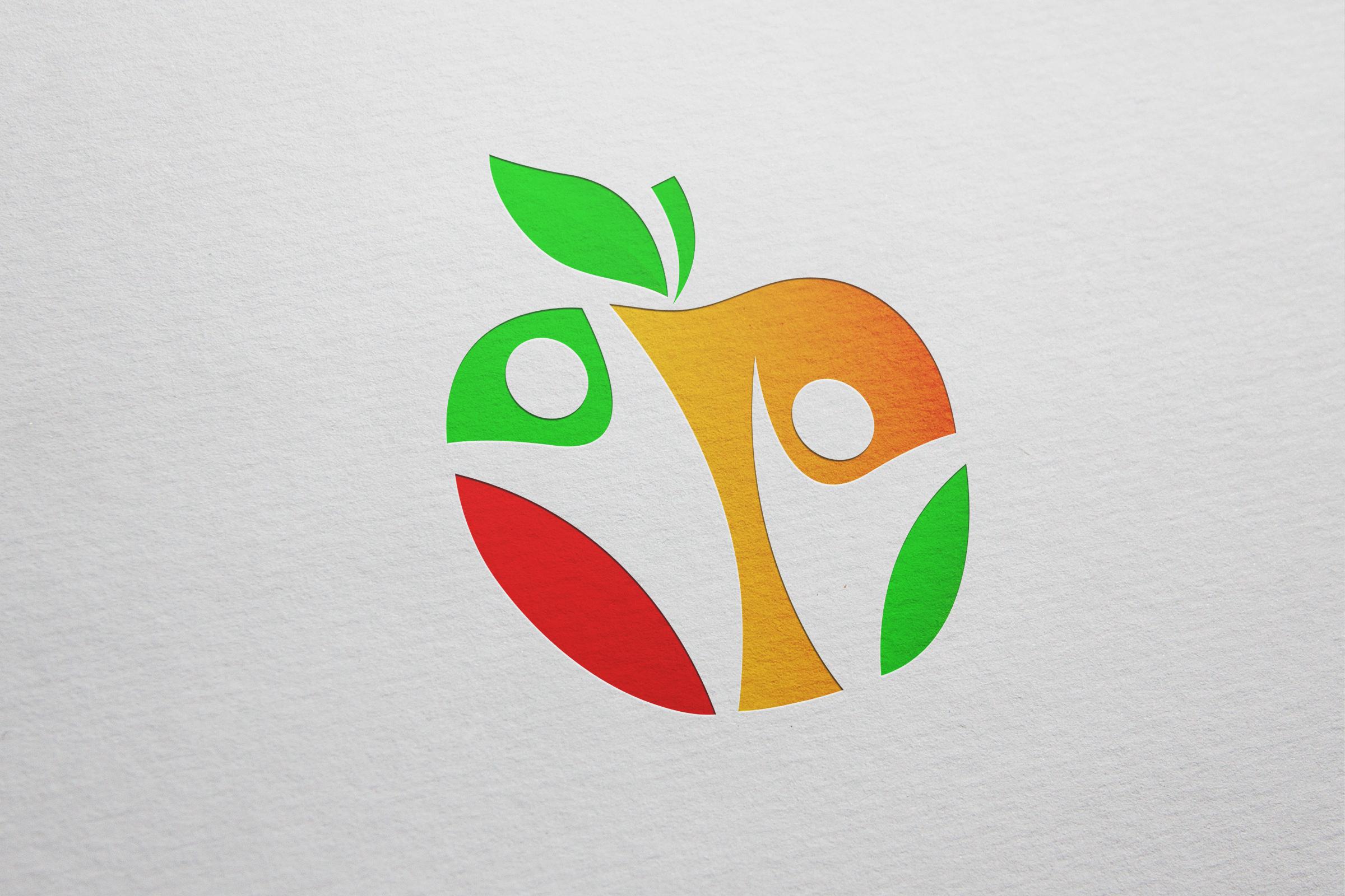 Лого для производства яблочного сока