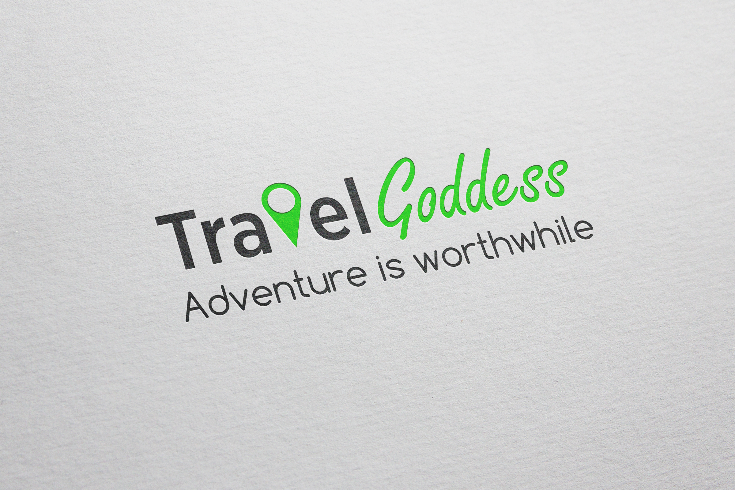 "Логотип для блога ""Travel  Goddess"""