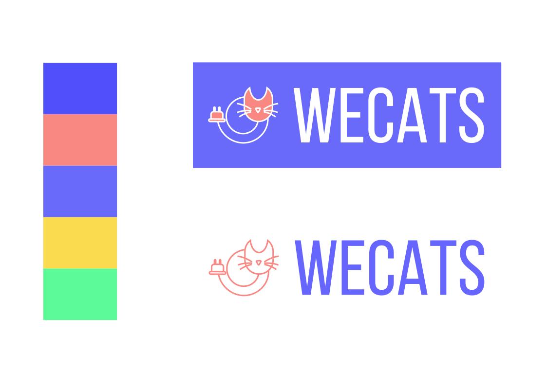 Создание логотипа WeCats фото f_8345f188ec64381b.png