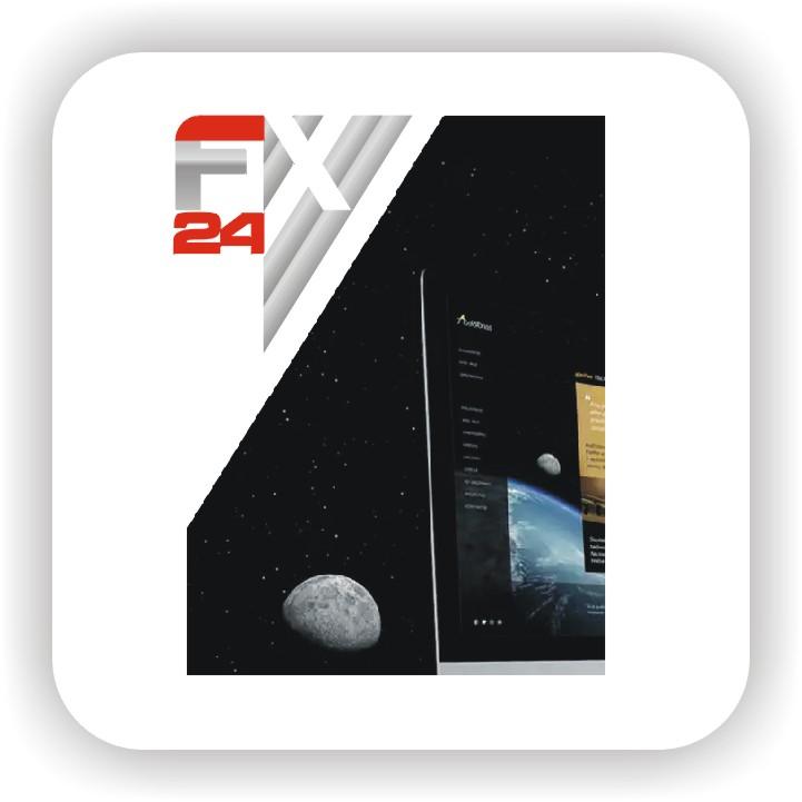 Разработка логотипа компании FX-24 фото f_411545a20bd35a6c.jpg