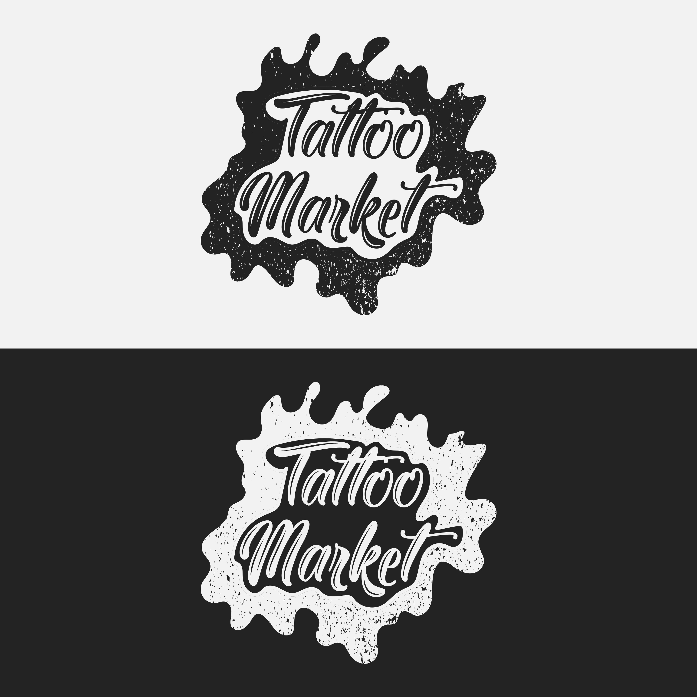 Редизайн логотипа магазина тату оборудования TattooMarket.ru фото f_0715c3a30177560f.jpg
