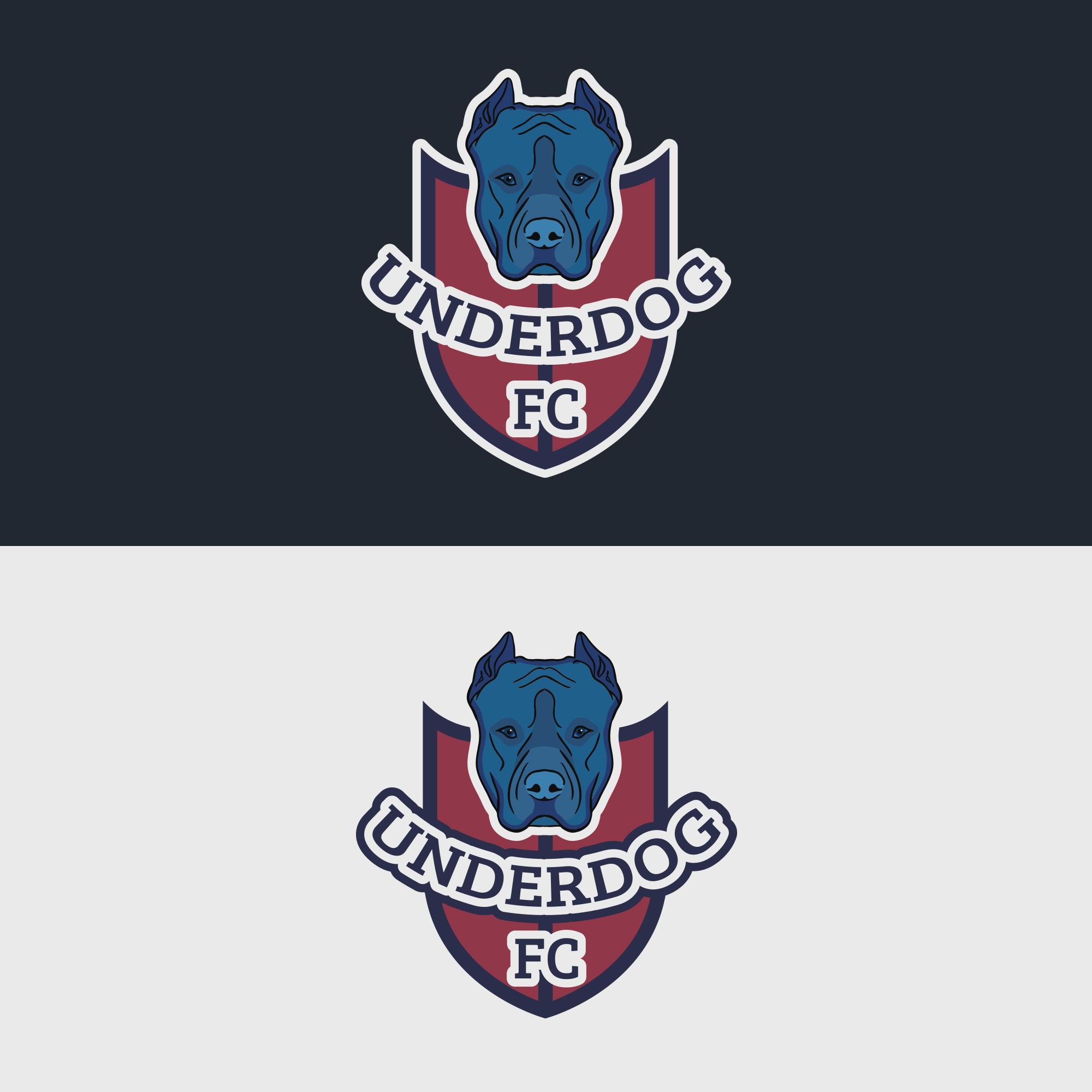 Футбольный клуб UNDERDOG - разработать фирстиль и бренд-бук фото f_1235caf51dee35b7.jpg
