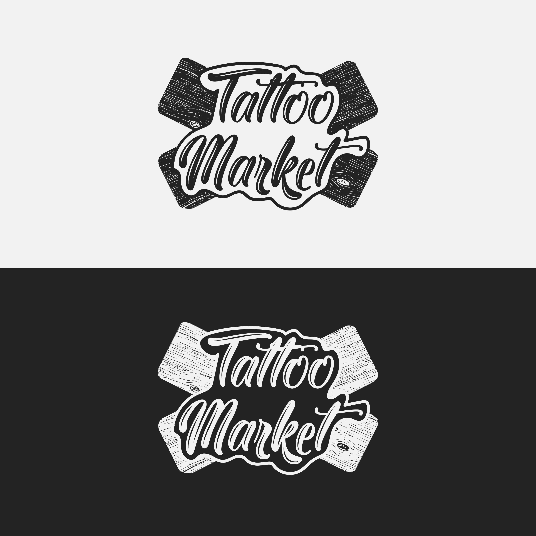 Редизайн логотипа магазина тату оборудования TattooMarket.ru фото f_9765c3a300cc36c6.jpg