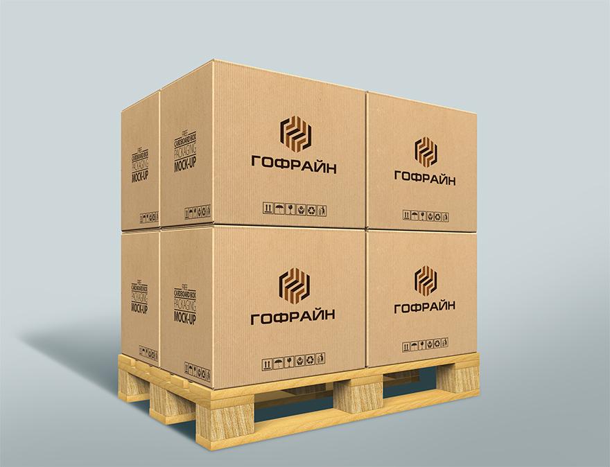Логотип для компании по реализации упаковки из гофрокартона фото f_0305ce59de5edff0.jpg