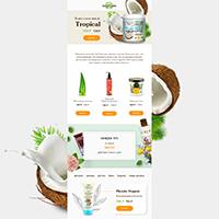 E-mail-рассылка для магазина Love-organic.ru