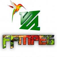 Скрипт - программа ffmpeg для преобразования (склейки) файлов mp3 и jpg в mp4