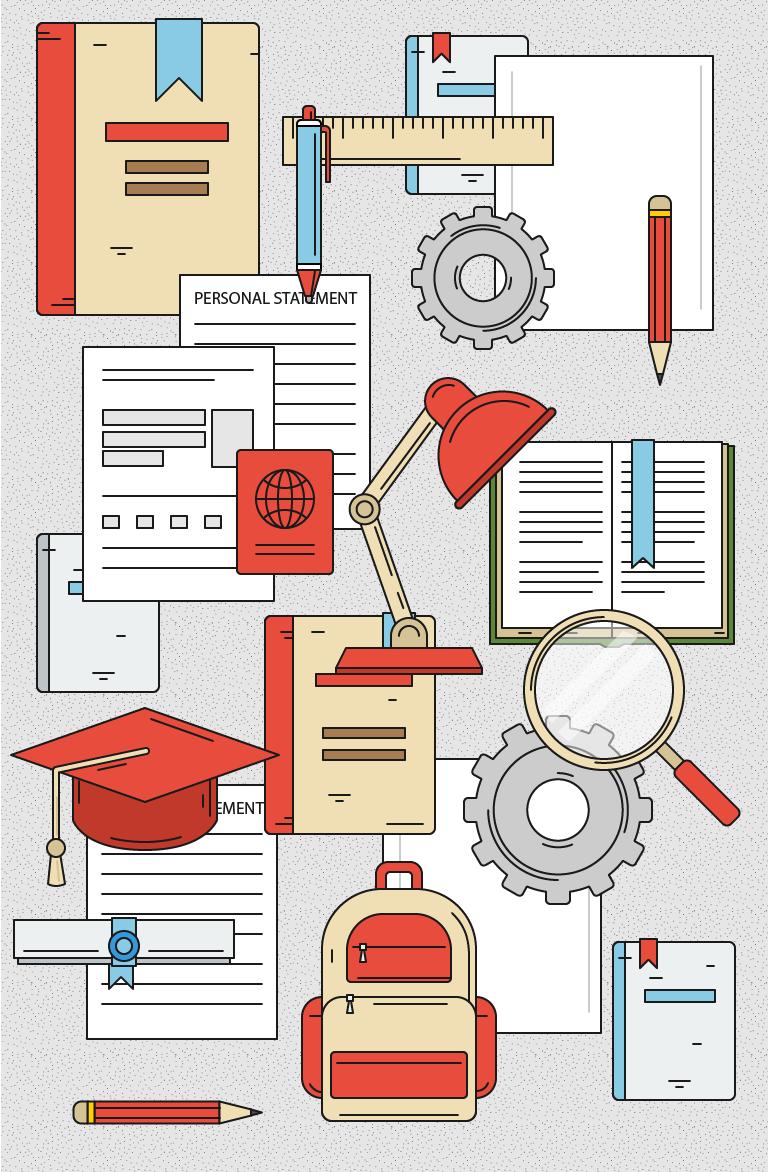 Иллюстрации на тему образования и ВУЗов
