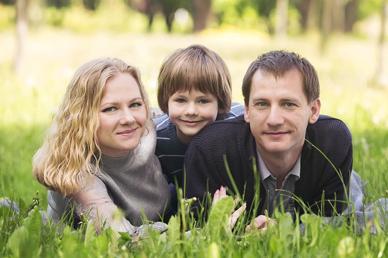 Обработка семейного фото