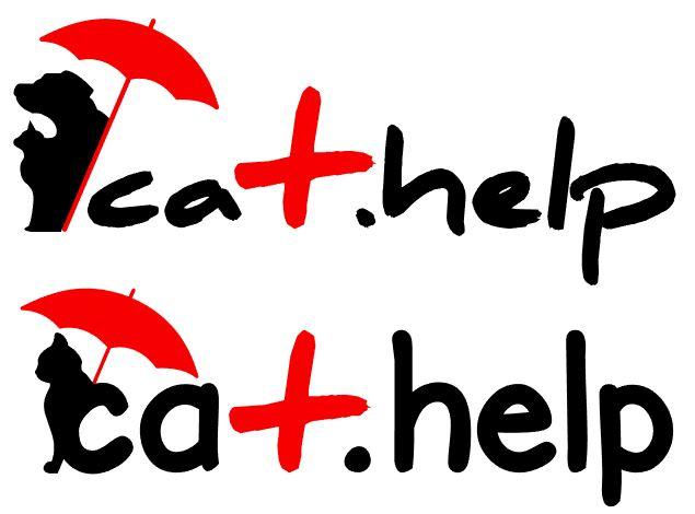 логотип для сайта и группы вк - cat.help фото f_09659dce6e43261d.jpg