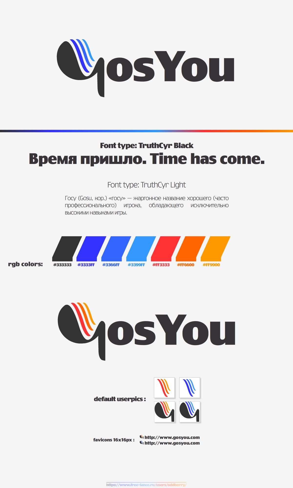 Логотип, фир. стиль и иконку для социальной сети GosYou фото f_507985f7b1d9f.jpg