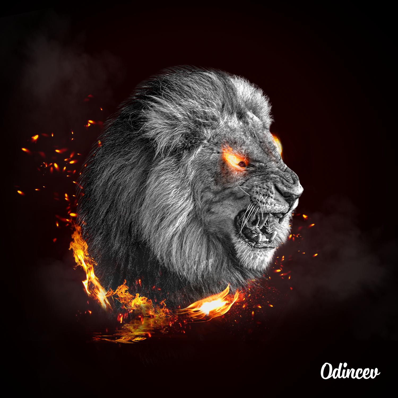 Вогняний лев