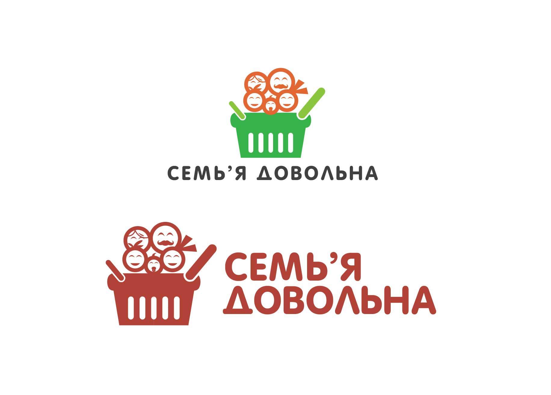 """Разработайте логотип для торговой марки """"Семья довольна"""" фото f_134596adf327140e.jpg"""