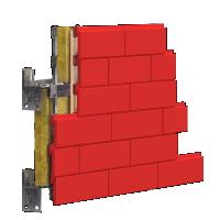 3D визуализация системы утепления фасада