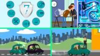 анимационный рекламный ролик об услугах компании