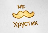 "Логотип кондитерской ""Мr. Хрустик"""