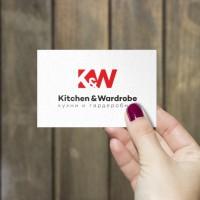 Logo K&W (кухни и гардеробные)