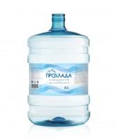 """Этикетка для бутылированной воды """"Прохлада"""""""