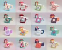 Дизайн подарочных коробок