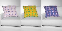 """Паттерн для ткани в стиле оригами """"Бабочки"""""""