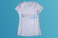 Я люблю Россию / АНКОР (принт на женскую футболку)
