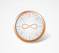"""Векторные часы для обложки журнала антикафе """"Вне времени"""""""