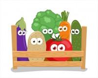 Овощи в корзинке