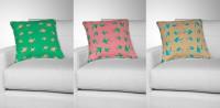 """Паттерн для ткани в стиле оригами """"Рыбки"""""""