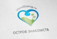 """Логотип для сайта """"Остров знакомств"""""""
