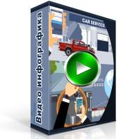Видеоинфографика приложения для диллеров