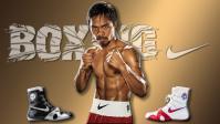 Монтаж рекламного ролика боксёрок Nike лимитированной серии Manny Pacquiao