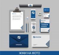 Nirocom (логотип, книга, фирменный стиль, дизайн авто)
