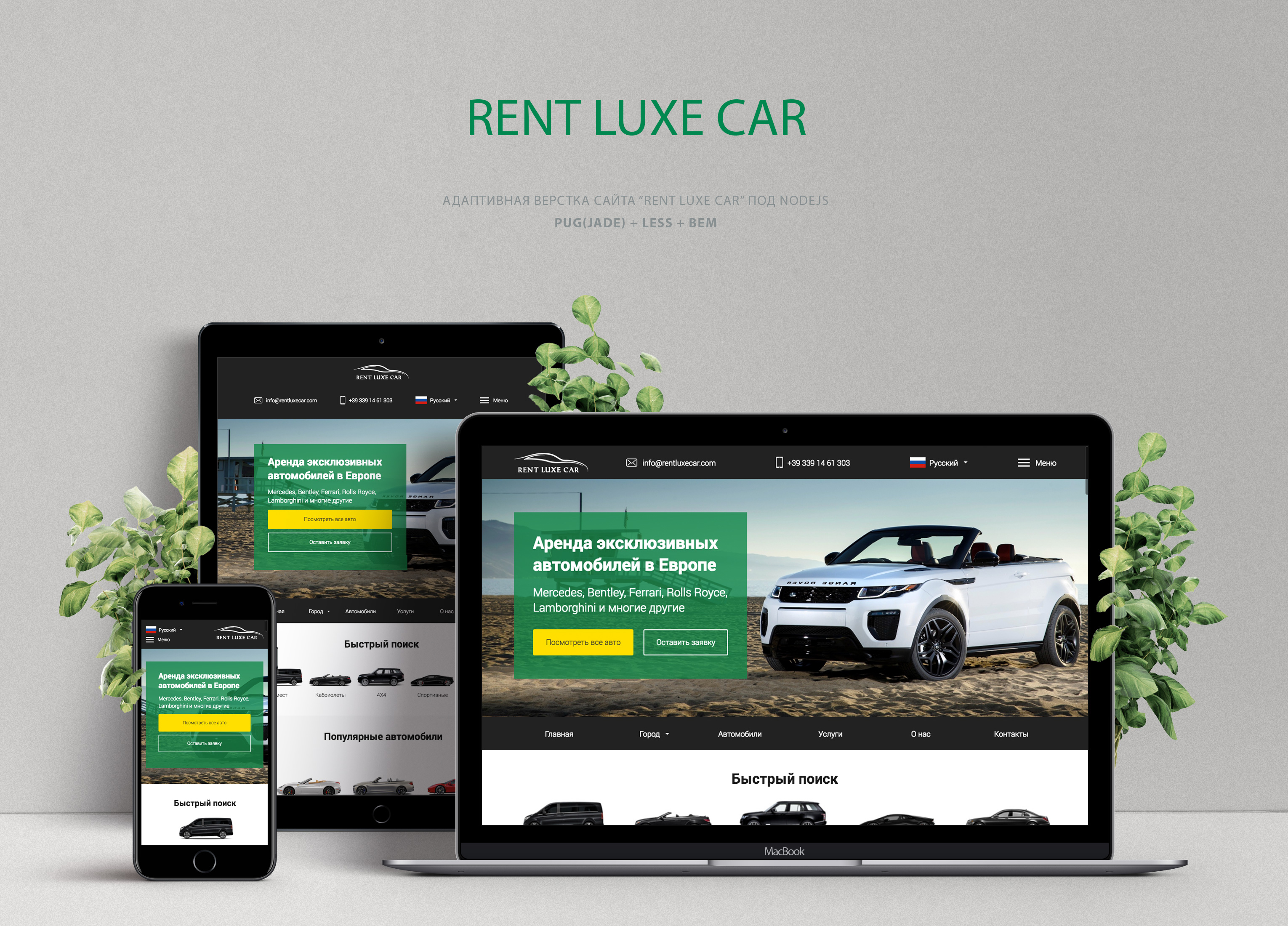 Rent Luxe Car