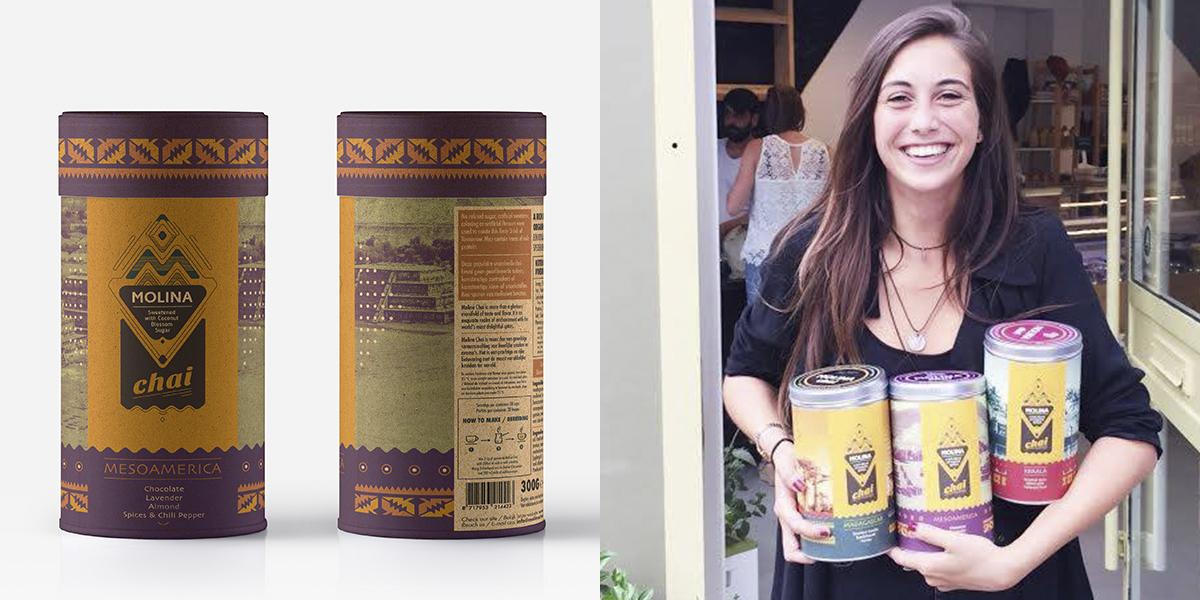 Натуральный чай латте — Вот и дизайн экологичный с уклоном в этнику. Можно его попить в Нидерландских кафе :)