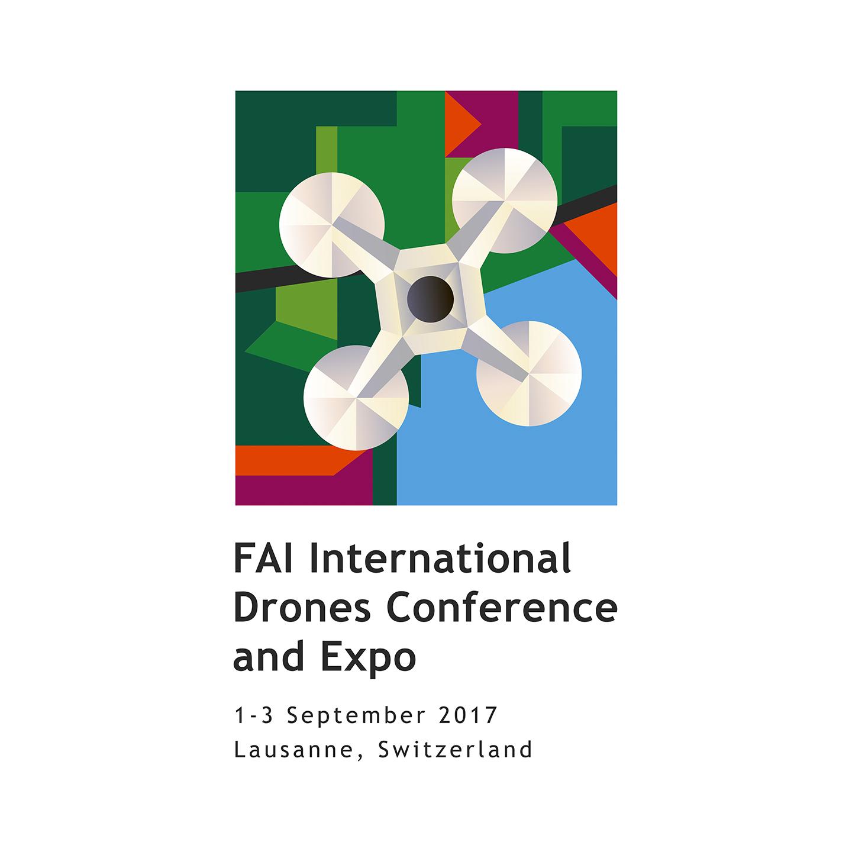 Серьезная международная конференция в Лозанне, а логотип яркий